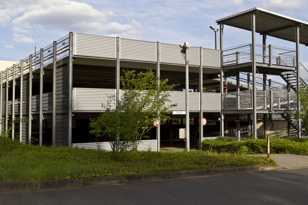 Parkhaus Frankfurter Flughafen